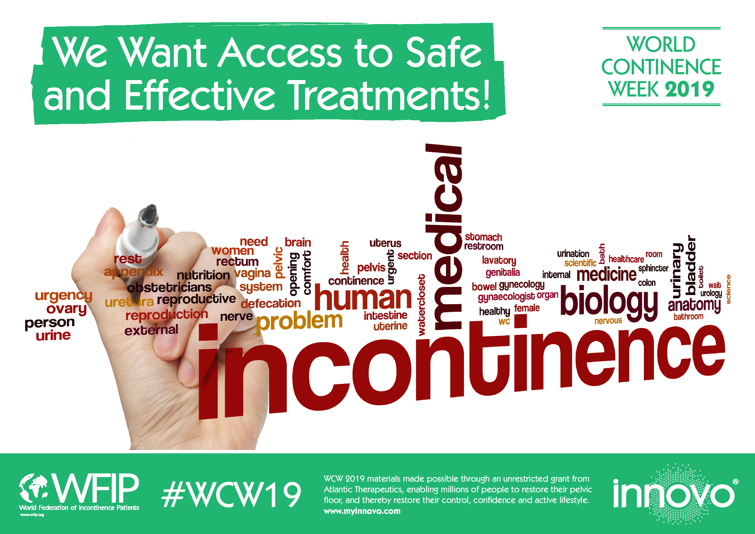World continence week 2019 poster