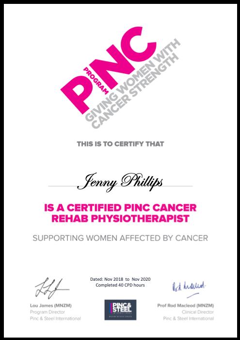 PINC Certification Certificate